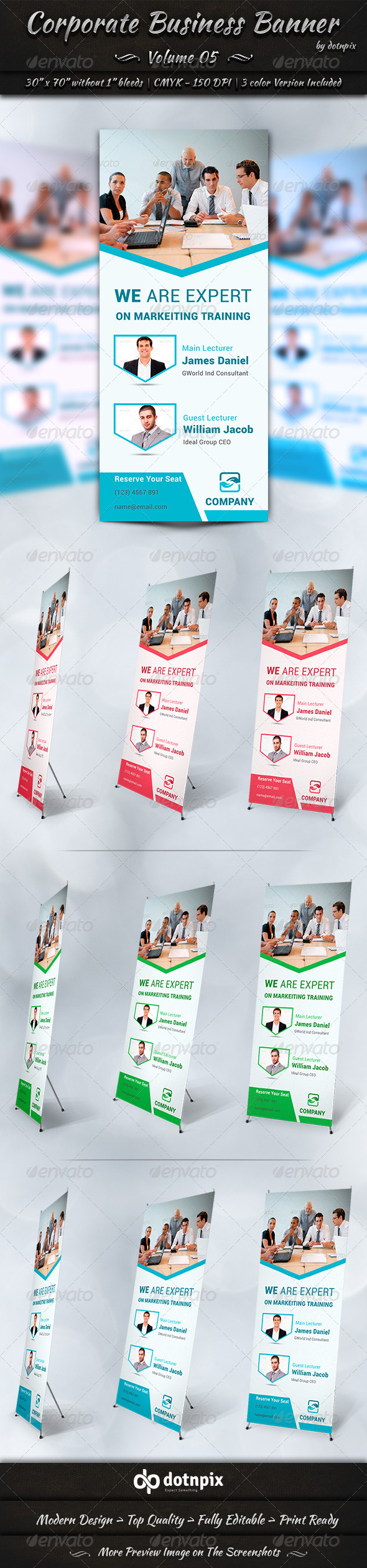 GraphicRiver Corporate Business Banner Volume 5 7772244