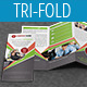 Multipurpose Business Tri-Fold Brochure Vol-22 - GraphicRiver Item for Sale