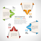 Origami Infographics Template - GraphicRiver Item for Sale
