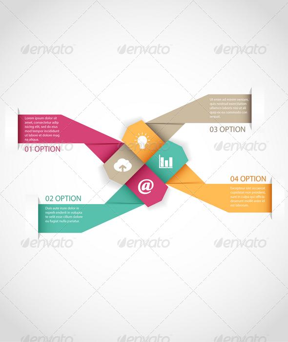 GraphicRiver Arrow Infographics Template 7733135