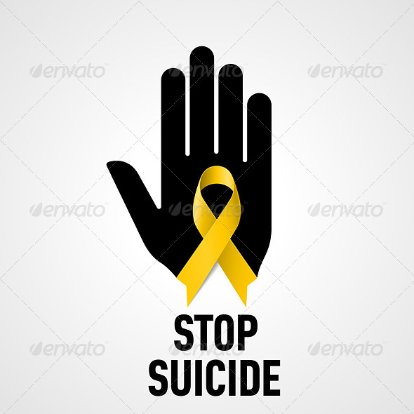 GraphicRiver Stop Suicide Sign 7772471