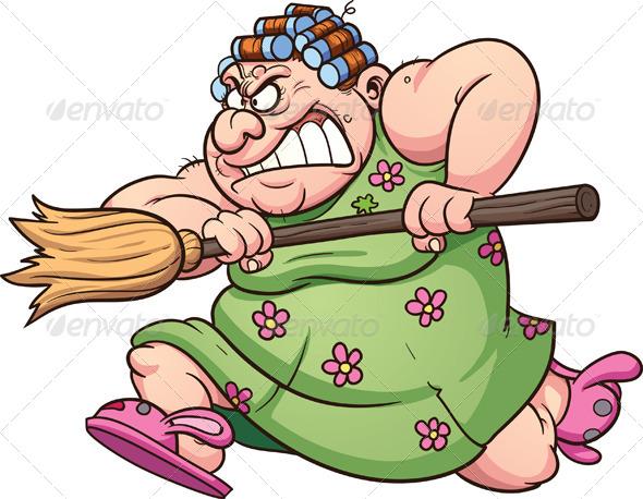 GraphicRiver Fat Woman 7772487