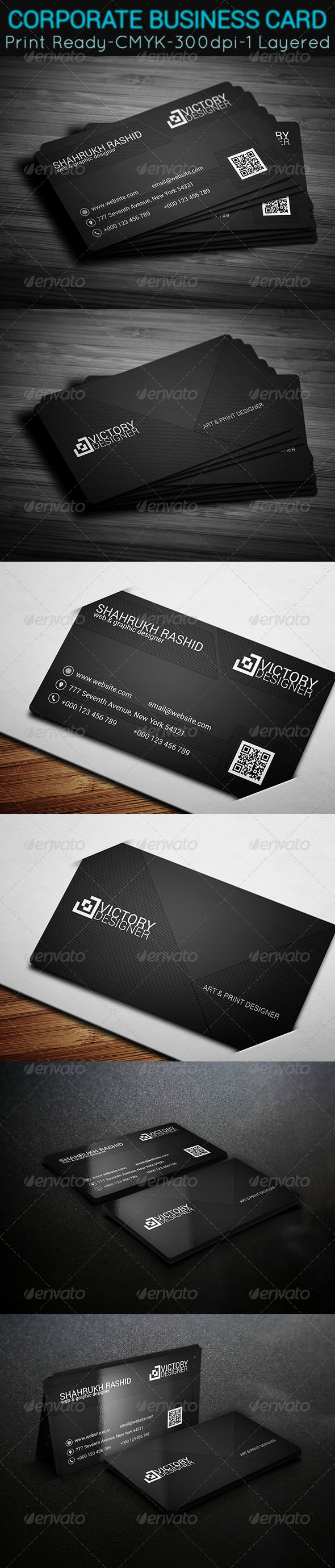 GraphicRiver Corporate Business Card 7772500