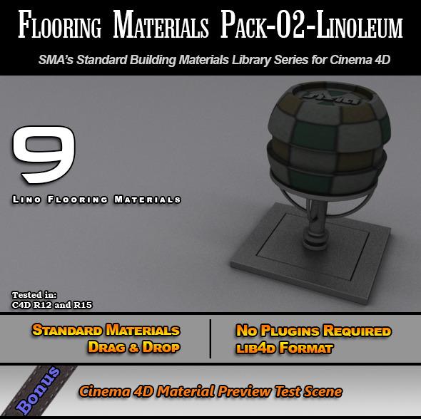 3DOcean Flooring Materials Pack-02-Linoleum 7772587