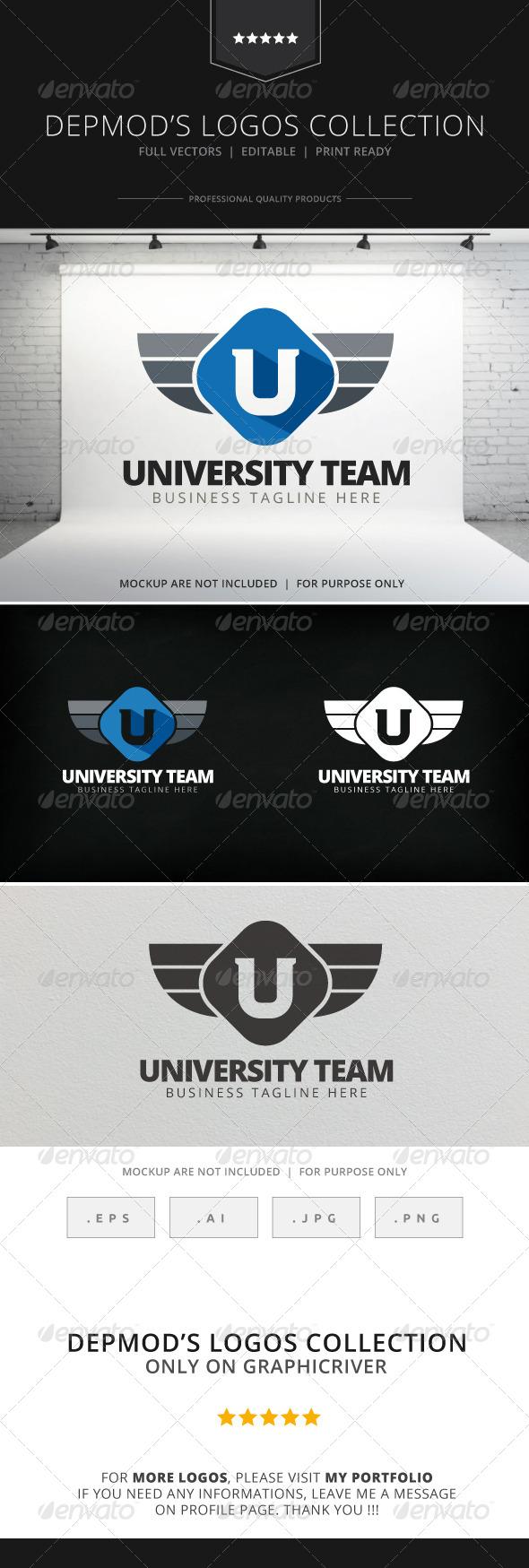 GraphicRiver University Team Logo 7772659
