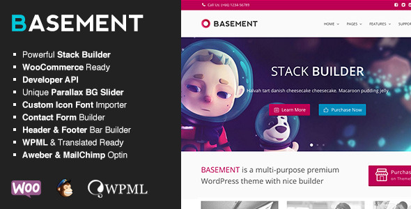 Basement - Responsive Multi-Purpose Theme - Basement - Responsive Multi-Purpose Theme
