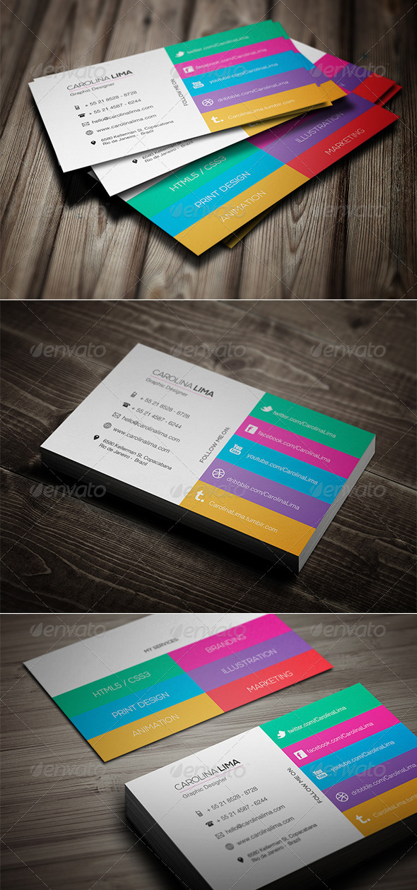 Creative Designer Business Card Vol. 01 - Creative Business Cards