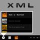 Premium XML Music Bottom Bar - ActiveDen Item for Sale