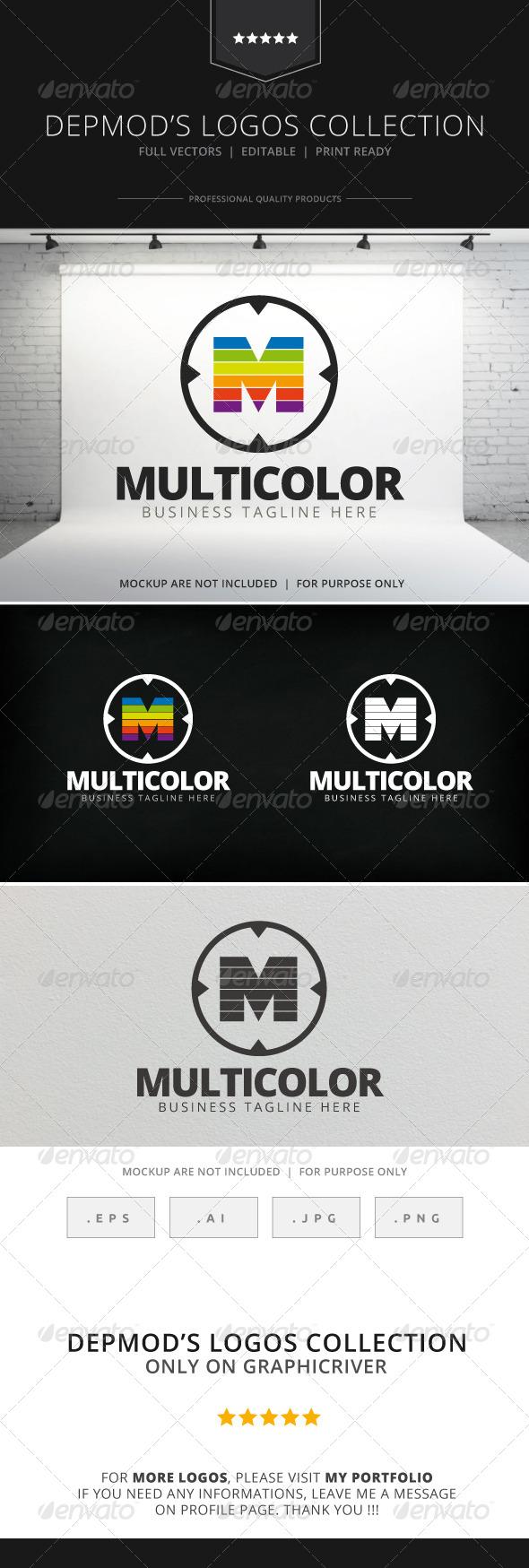 GraphicRiver Multicolor Logo 7773090