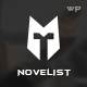 The Novelist: Responsive WP Theme for Writers - ThemeForest Item for Sale