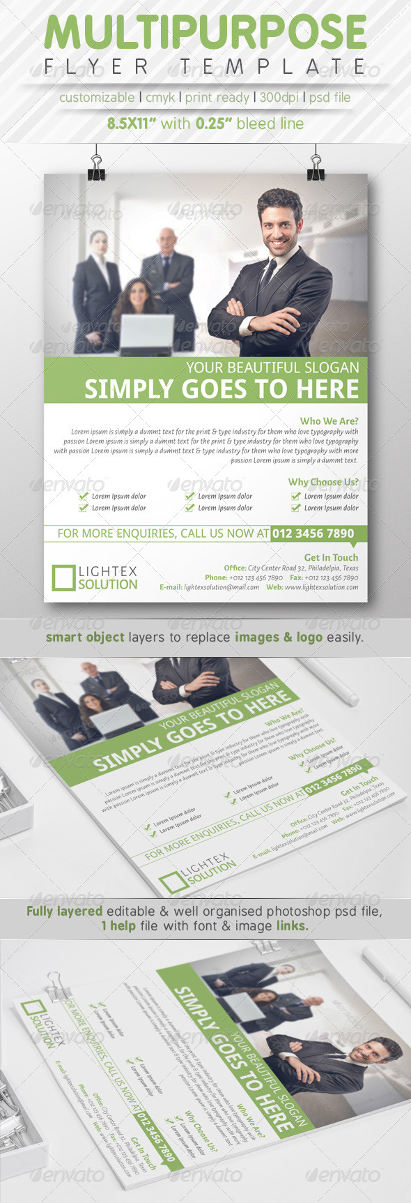 GraphicRiver Multipurpose Flyer Ads 7773741