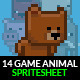 Game Animals Spritesheet | Volume 1 - GraphicRiver Item for Sale