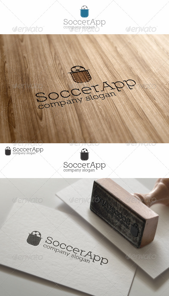 GraphicRiver Pocket Soccer App Logo 7774163