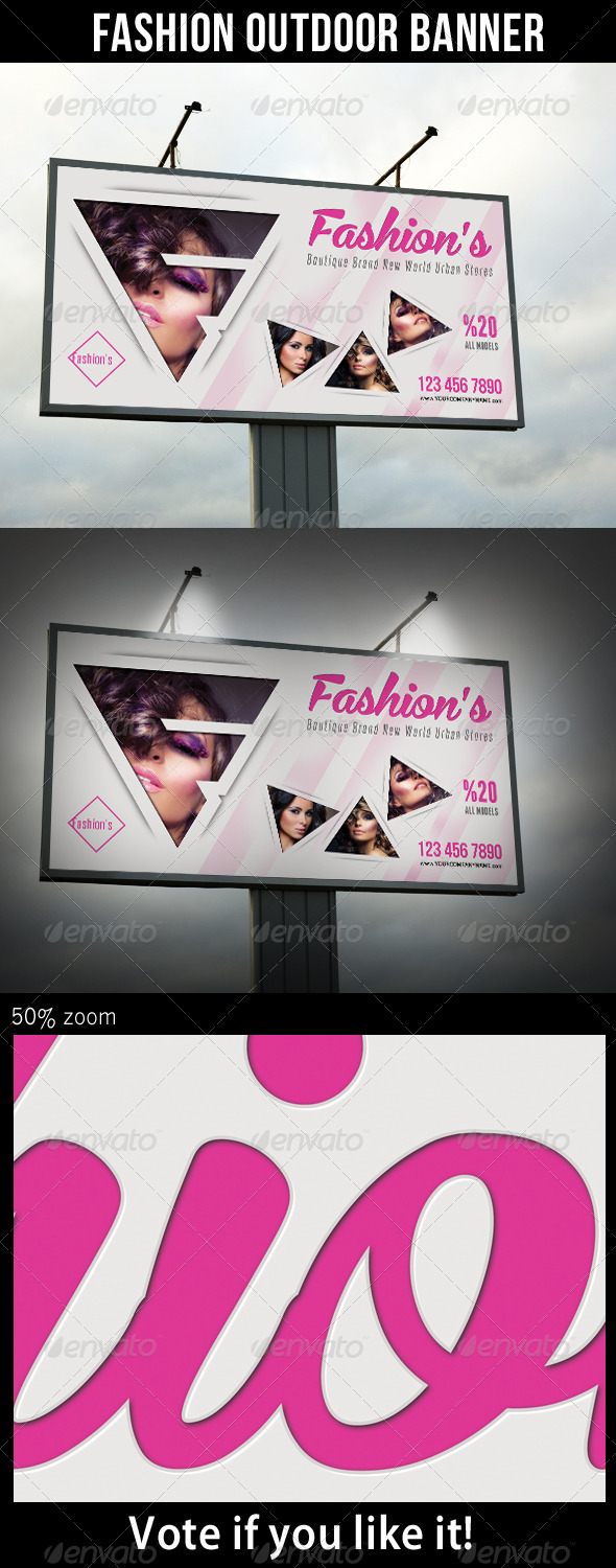 GraphicRiver Fashion Outdoor Banner 26 7774457