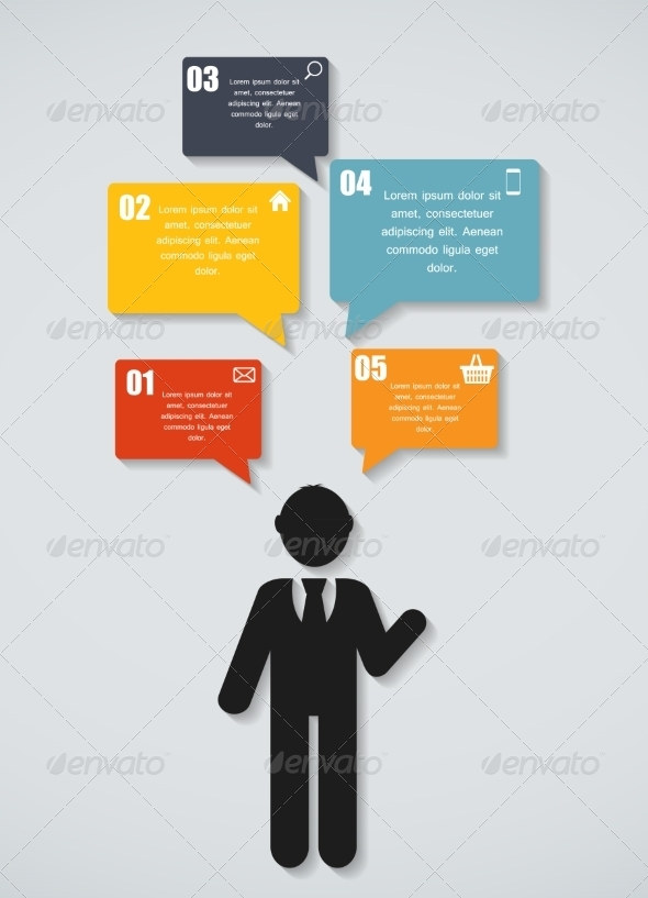 GraphicRiver Infographic Template for Business 7774670