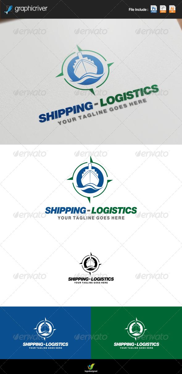 GraphicRiver Shipping and Logistics Logo 7775149