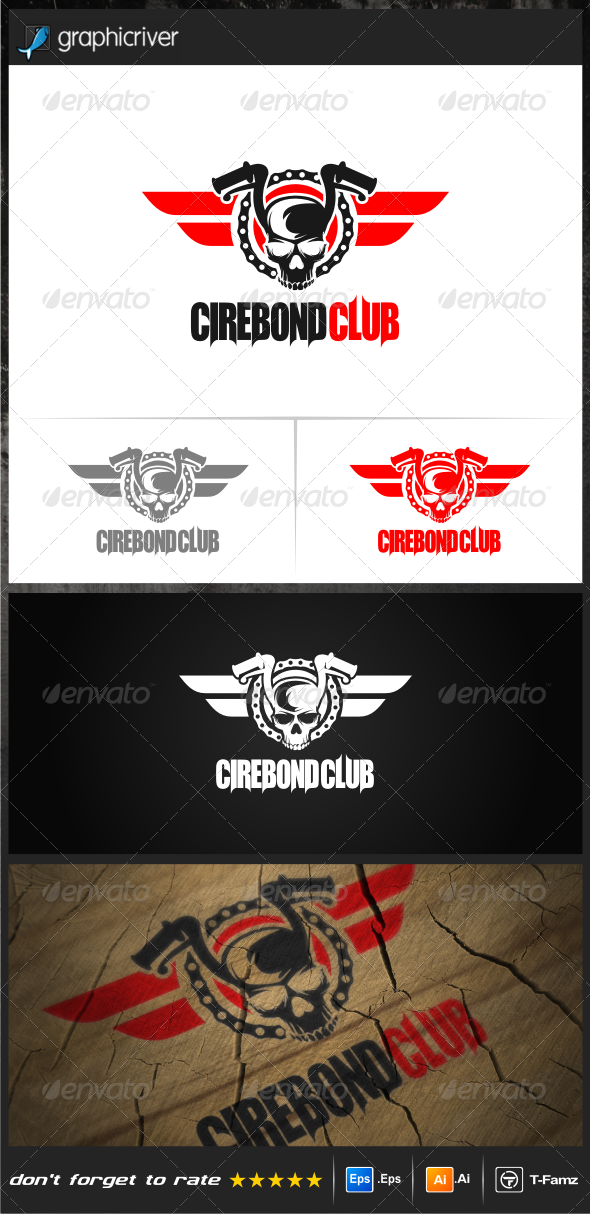 GraphicRiver Biker Logo Templates 7775154