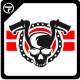 Biker Logo Templates - GraphicRiver Item for Sale