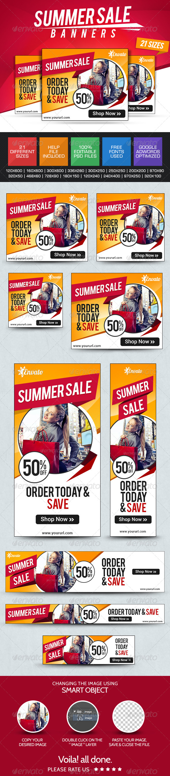 GraphicRiver Summer Sale Banners 7775157