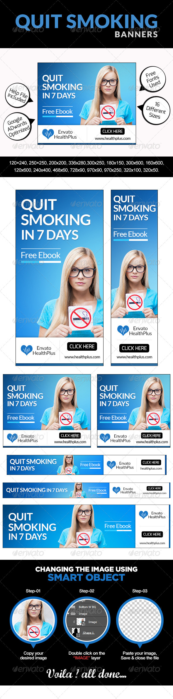 GraphicRiver Quit Smoking Banners 7775159