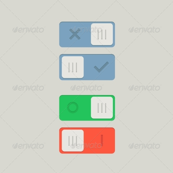 GraphicRiver Toggle Switch On and Off 7775163