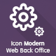 Icon Modern Web Backoffice - GraphicRiver Item for Sale