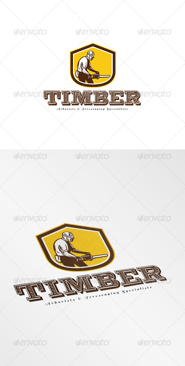 GraphicRiver Timber Treescaping Specialists Logo 7775606