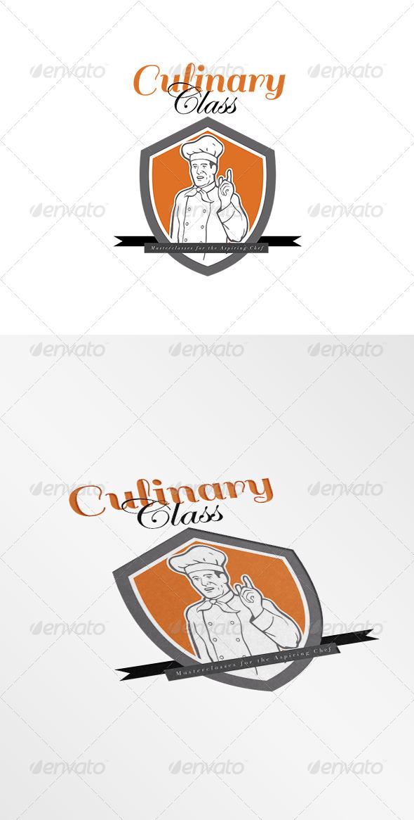 GraphicRiver Culinary Class for Aspiring Chefs Logo 7775613