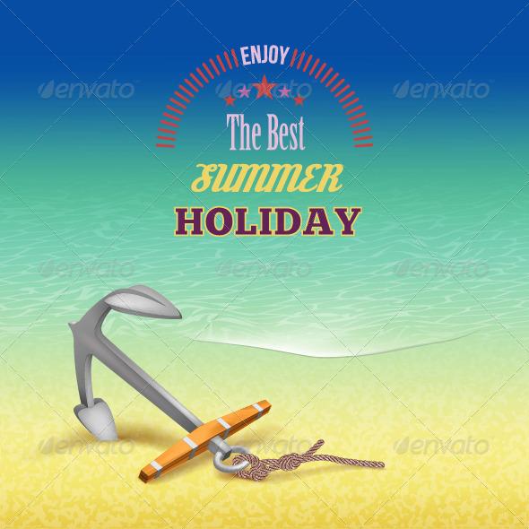 GraphicRiver Summer Travel Poster Design 7775648