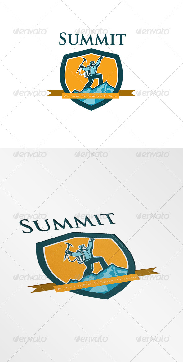 GraphicRiver Summit Performance Wear Extreme for Condition Logo 7775712