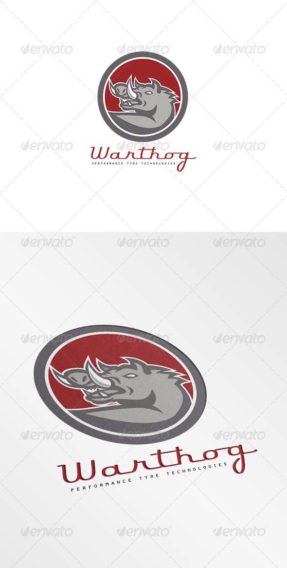 GraphicRiver Warthog Performance Tyre Technology Logo 7775771