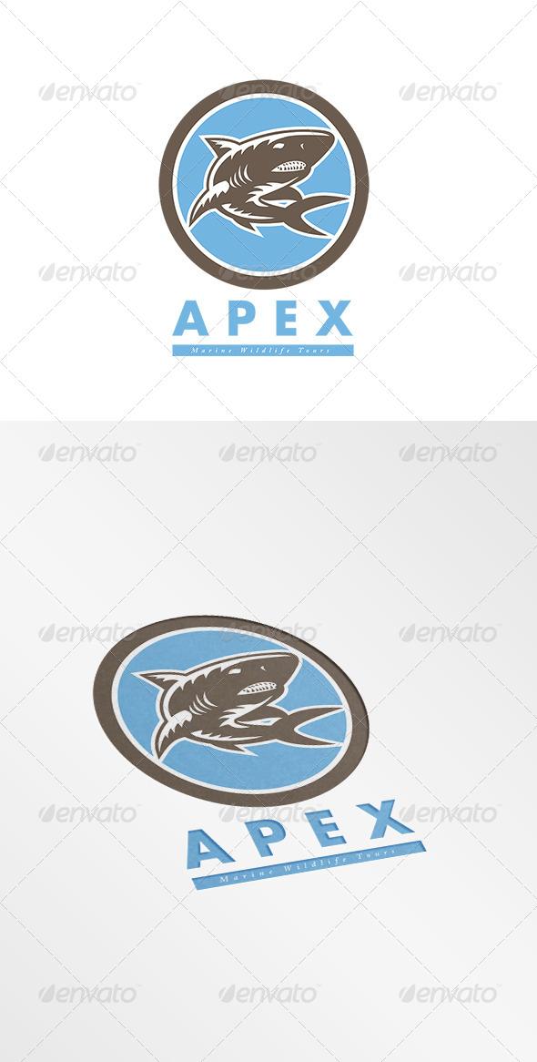 GraphicRiver Apex Marine Wildlife Tours Logo 7775785