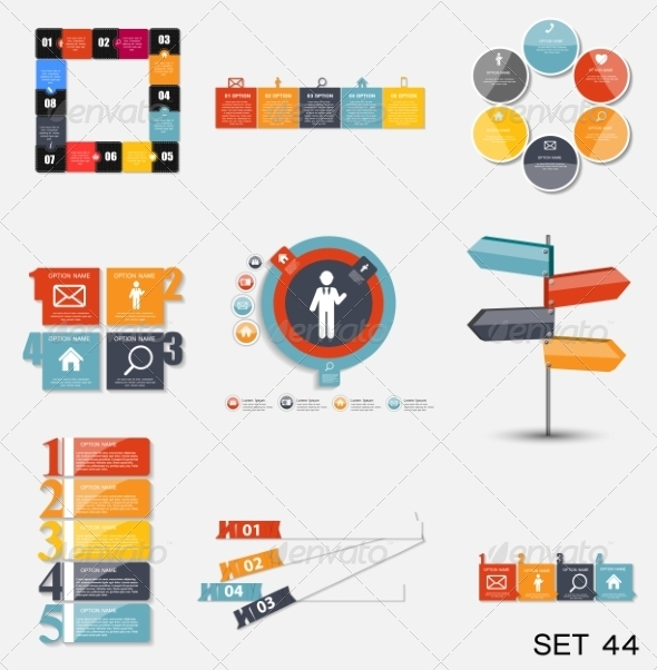 GraphicRiver Collection of Infographic Templates for Business V 7775996