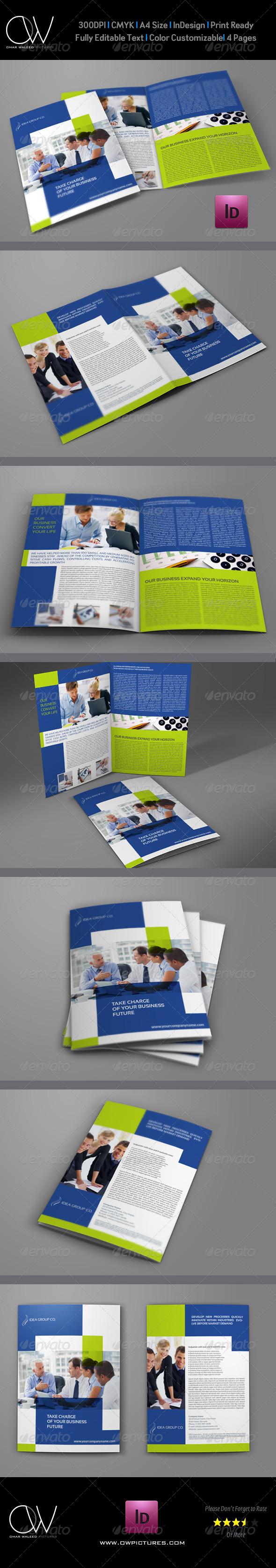GraphicRiver Company Brochure Bi-Fold Template Vol.28 7762194