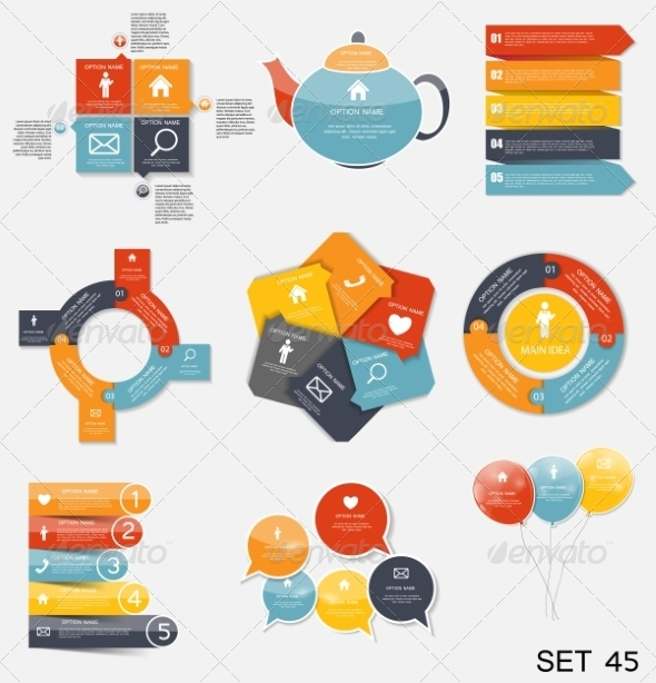 GraphicRiver Collection of Infographic Templates for Business V 7775998