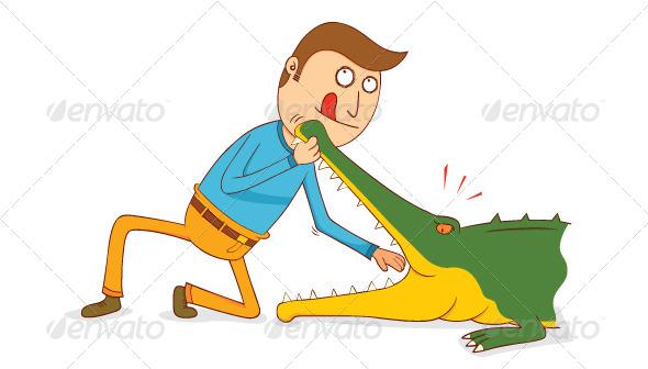 GraphicRiver Crocodile Show 7776020