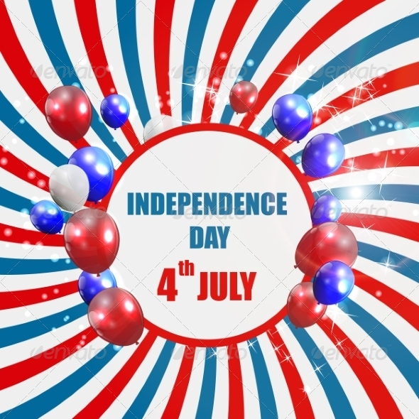 GraphicRiver Independence Day Poster Vector Illustration 7776074