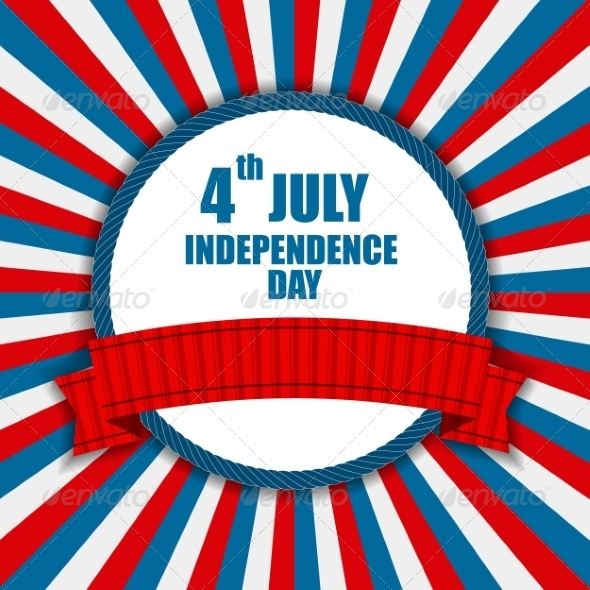 GraphicRiver Independence Day Poster Vector Illustration 7776089