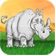 Rhino Slide Puzzle – HTML5 Game