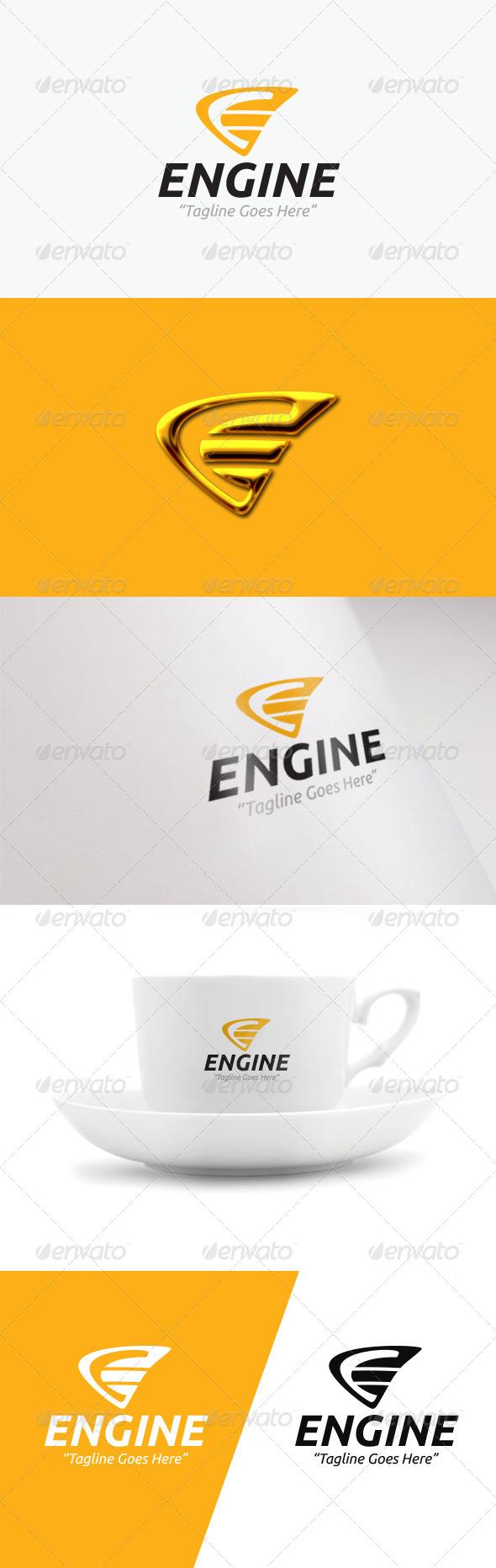 GraphicRiver Engine Logo 7776155