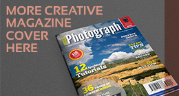 Photographer Magazine Cover Template Vol.3