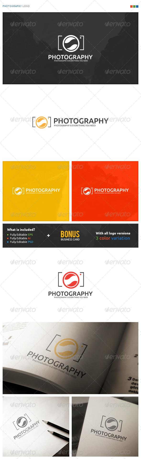 Photography Logo - Symbols Logo Templates