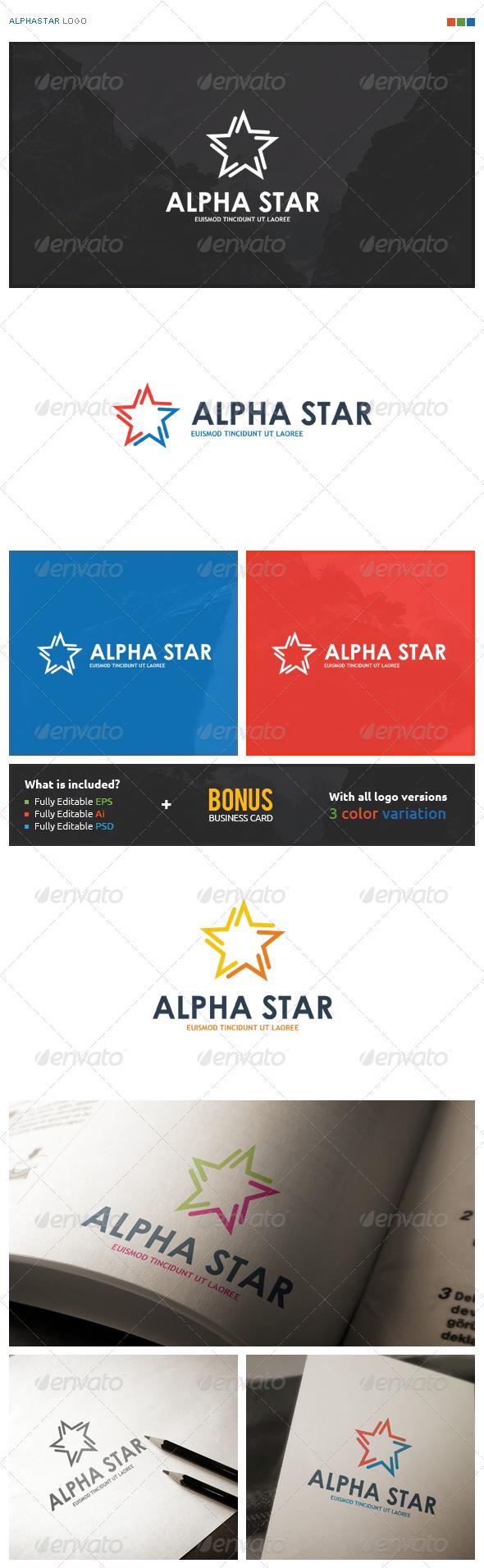 AlphaStar Logo - Symbols Logo Templates
