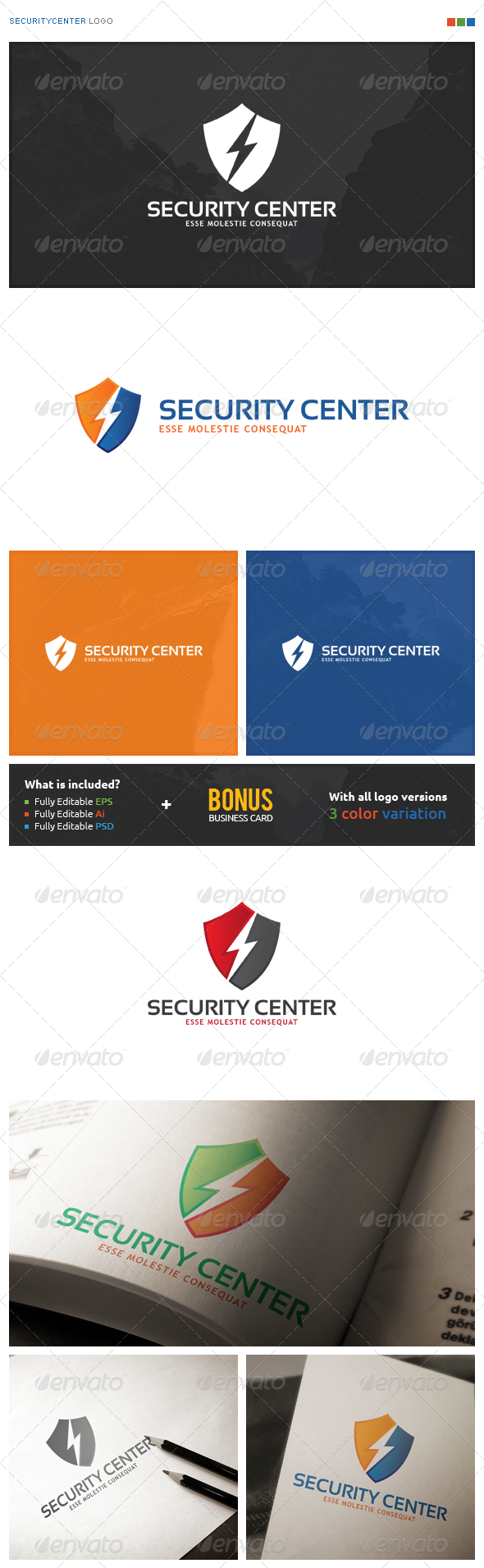 SecurityCenter Logo - Symbols Logo Templates