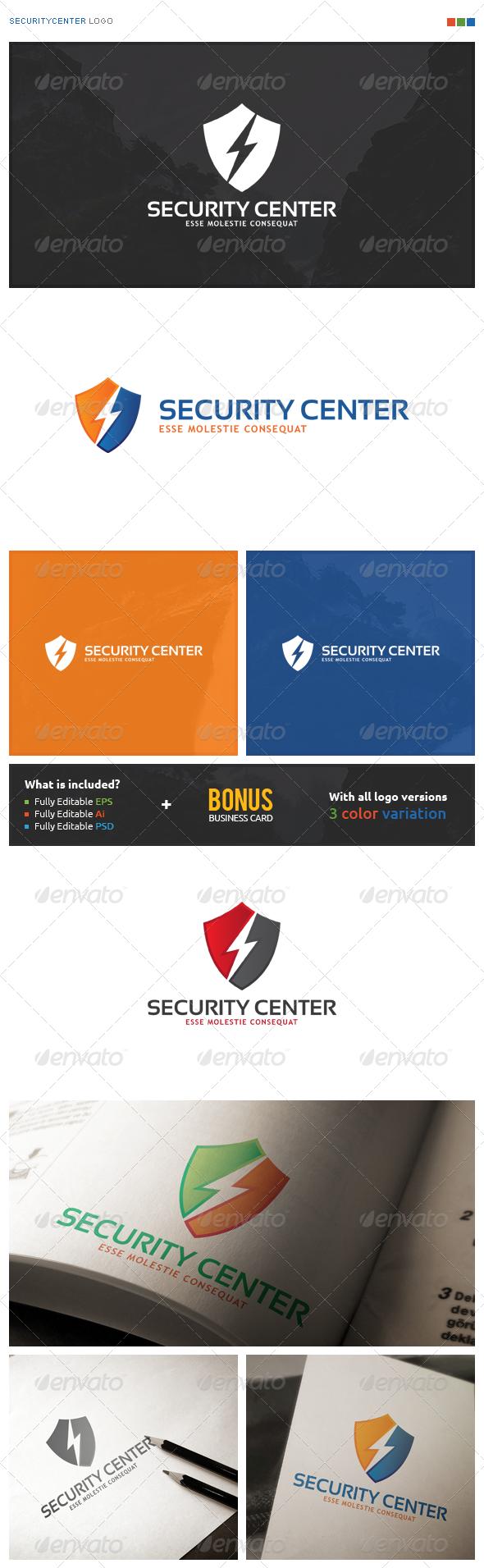 SecurityCenter Logo - Symbols Logo Templates