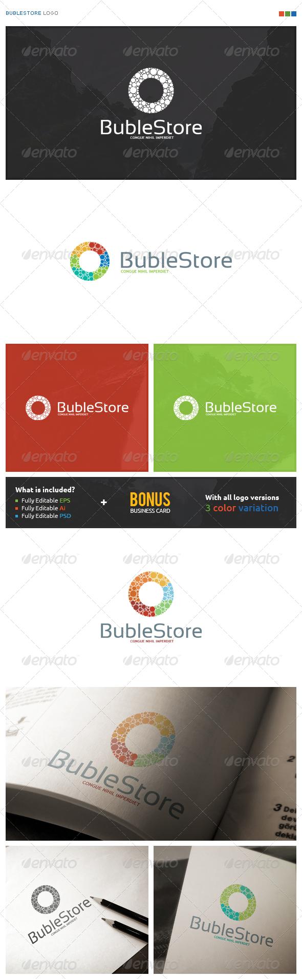 BubleStore Logo