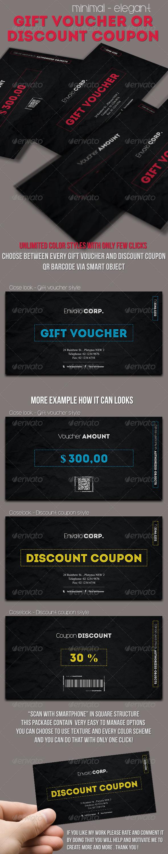 GraphicRiver Minimal Elegant Gift Voucher 7749106