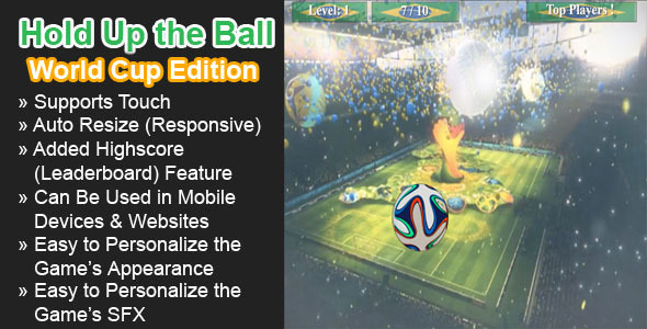 CodeCanyon Hold Up the Ball World Cup Edition 7778523