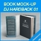 MyBook Mock-up - DJ Hardback 01 - GraphicRiver Item for Sale