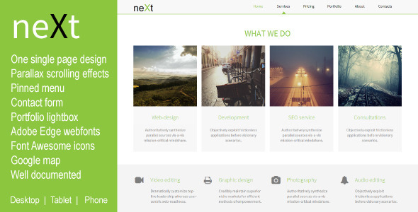 Next - Creative Muse Templates